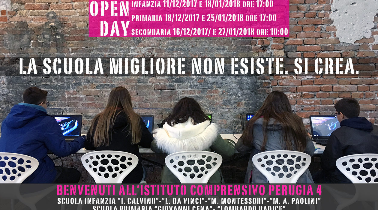 OPEN DAY anno scolastico 2017/2018